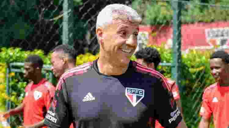 Crespo na Barra Funda - Divulgação/SPFC - Divulgação/SPFC