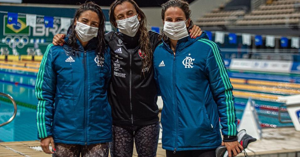 Naná Almeida, Larissa Oliveira e Gabi Roncatto (Flamengo ENS) têm chances de ir à Tóquio