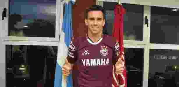 Mouche tem contrato com o Palmeiras até 2019 - Reprodução/Twitter