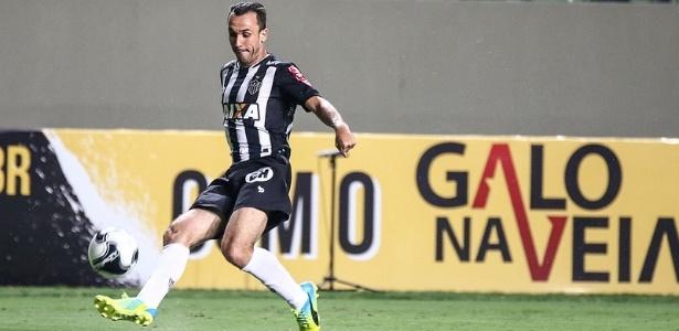Desde que se recuperou de lesão, Thiago Ribeiro só participou dos jogos que o Atlético-MG usou os reservas
