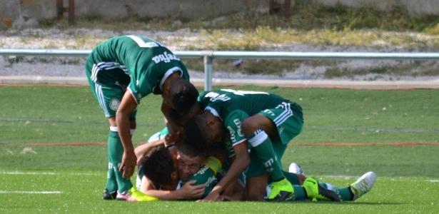Palmeiras venceu quatro jogos até chegar à decisão
