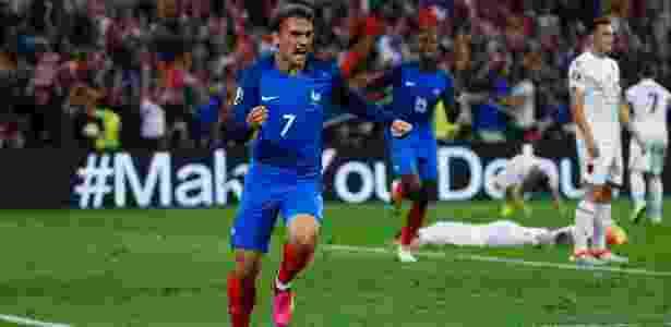 Atualmente com a seleção francesa, Griezmann foi importante figura do Atlético na temporada - Eddie Keogh/Reuters