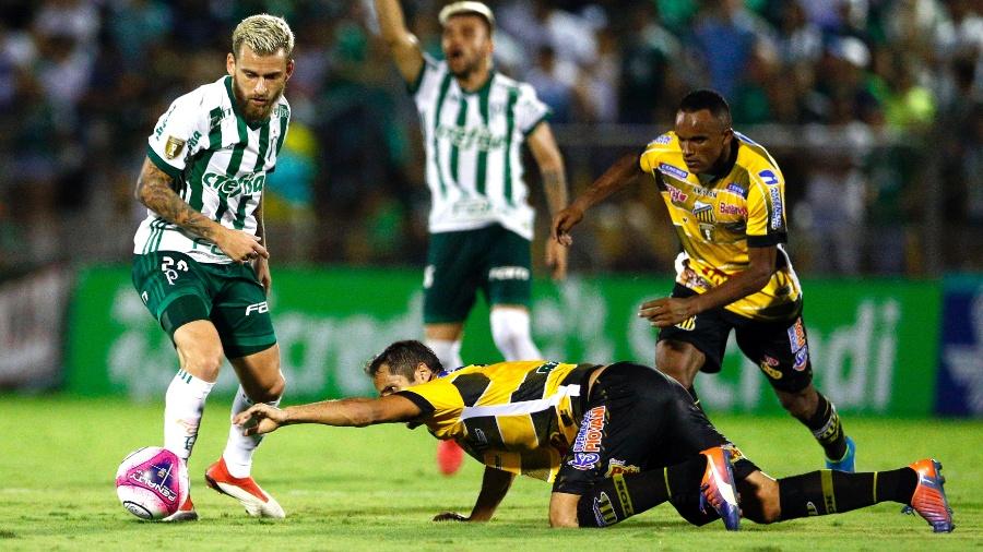 Lucas Lima vem fazendo ótima temporada, mas não tem sido lembrado por Tite - Thiago Calil/AGIF