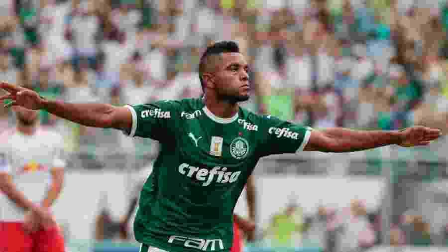 Borja comemora gol do Palmeiras contra o Red Bull Brasil - Marcello Zambrana/AGIF