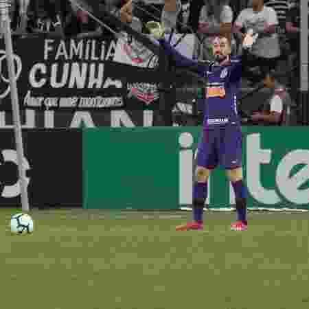 Walter gesticula durante partida do Corinthians contra o Ceará pela Copa do Brasil - Daniel Augusto Jr/Ag. Corinthians