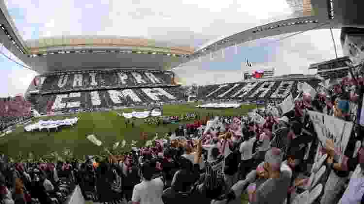 Corinthians passou a enfrentar dificuldades financeiras nos últimos anos: falta de bilheteria afetou os cofres - divulgação/Corinthians