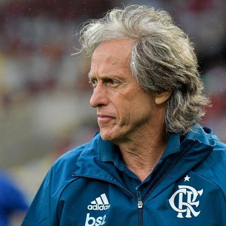 Jorge Jesus comanda o Flamengo em vitória para o Boavista no Maracanã - Thiago Ribeiro/AGIF