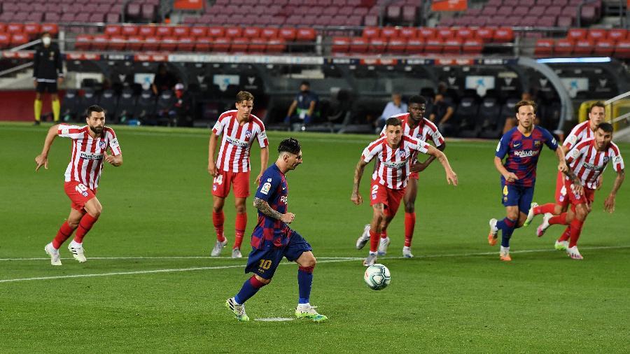 São 630 gols pelo Barcelona e 70 pela Argentina, segundo contas divulgadas pelo clube - David Ramos/Getty Images