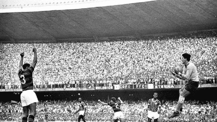 Flamengo venceu Fluminense em jogo com maior público da história do futebol, em 1963 - Acervo Pessoal - Acervo Pessoal