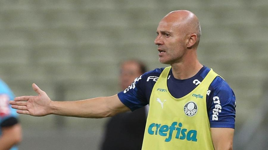 Auxiliar de Abel Ferreira, Vitor Castanheira comanda o Palmeiras contra o Ceará - Cesar Greco/SEPalmeiras