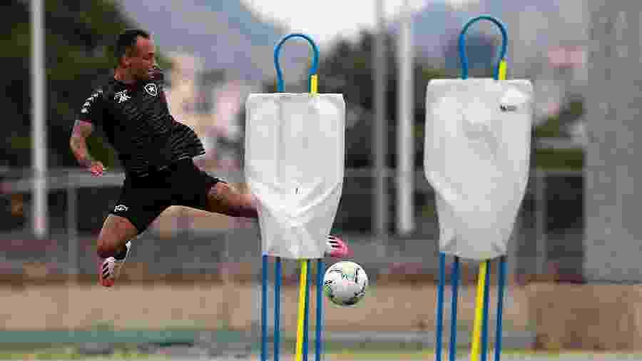 Lucas Campos, atacante do Botafogo - Vitor Silva/Botafogo