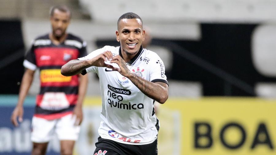 Otero abriu o placar para o Corinthians no fim do primeiro tempo - Rodrigo Coca/Agência Corinthians