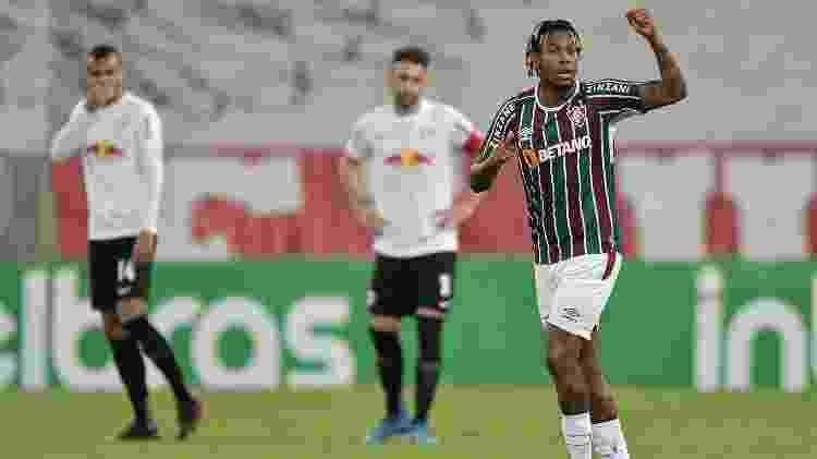 Abel Hernández caiu de produção, viu Bobadilla crescer e não sabe se fica no Fluminense em 2022 - Thiago Ribeiro/AGIF - Thiago Ribeiro/AGIF