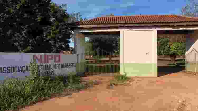Entrada da Associação Nipo-Brasileiro: local acampou mais de 2 mil chilenos na Copa do Mundo de 2014 - Bruno Braz / UOL Esporte - Bruno Braz / UOL Esporte