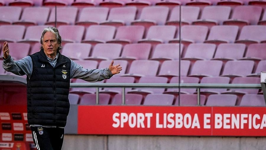 As coisas não andam nada boas para Jorge Jesus no Benfica - Patricia de Melo Moreira/AFP