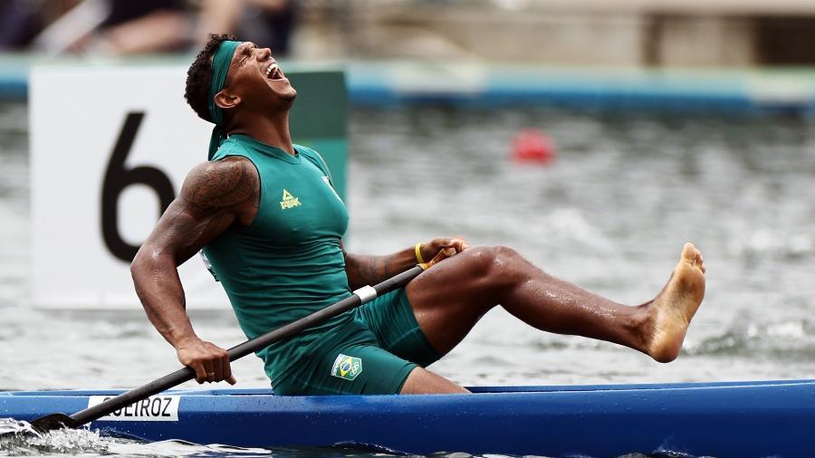 07.ago.2021 - Isaquias Queiroz vence medalha de ouro canoagem C1 - Jonne Roriz/COB