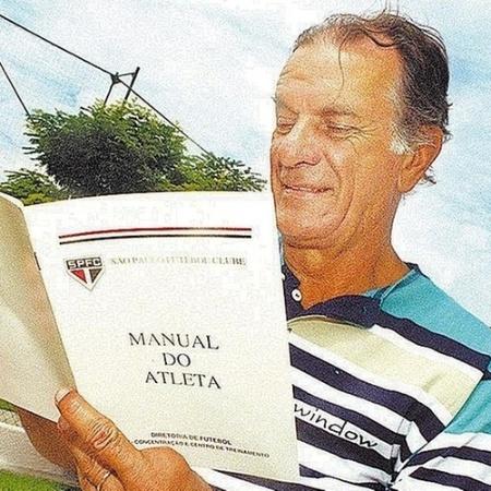 Telê Santana no São Paulo - Arquivo Folhapress