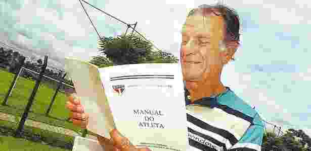 Telê Santana no São Paulo - Arquivo Folhapress - Arquivo Folhapress