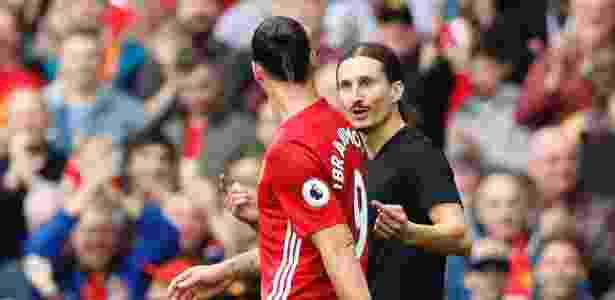 Sósia de Ibrahimovic arrancou risos - Carl Recine/Reuters - Carl Recine/Reuters