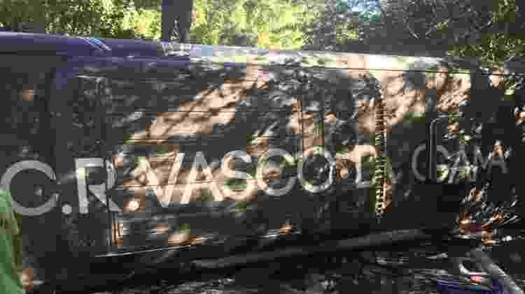 Ônibus do time sub-17 Vasco que em 2017 tombou em estrada que liga o Rio a Nova Friburgo - UOL Esporte