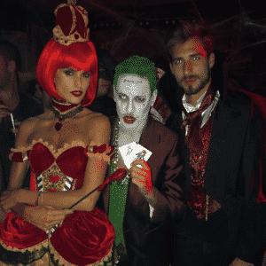 Neymar posta foto com o casal Izabel Goulart e Kevin Trapp em festa de Halloween - Reprodução/Instagram