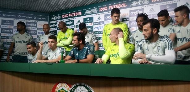 Elenco se reuniu para pedir apoio aos torcedores nesta reta final de Brasileiro
