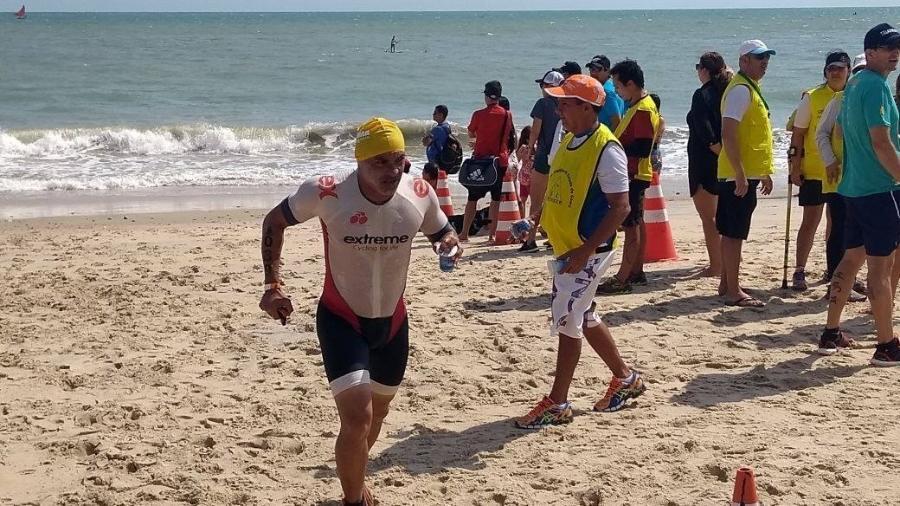 Genilson Lima desapareceu durante o Ironman Fortaleza - Reprodução/Facebook