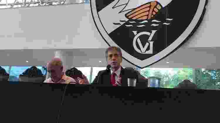 Luis Manoel Fernandes foi presidente do Conselho Deliberativo do Vasco e também é cogitado como candidato - Bruno Braz/UOL Esporte