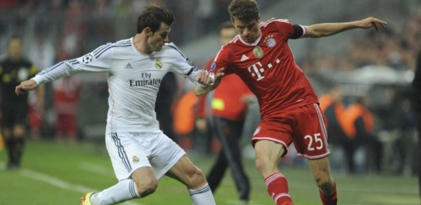 Gareth Bale e Thomas Muller apresentaram grande queda de rendimento