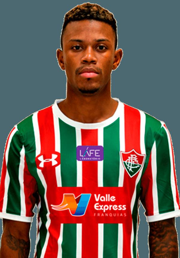 Marquinhos Calazans, atacante do Fluminense