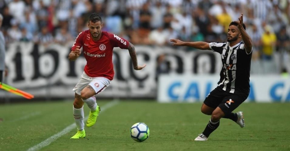 Ceará e Internacional se enfrentam pelo Campeonato Brasileiro 2018