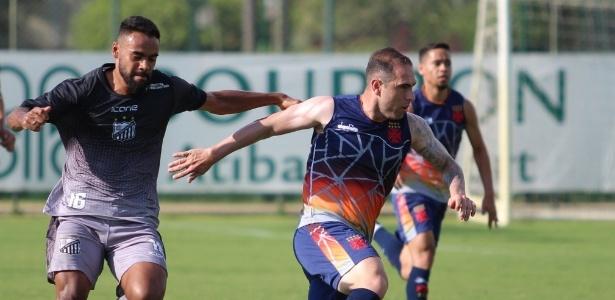 Recém-contratado, Bruno César atuou por 35 minutos no jogo-treino do Vasco