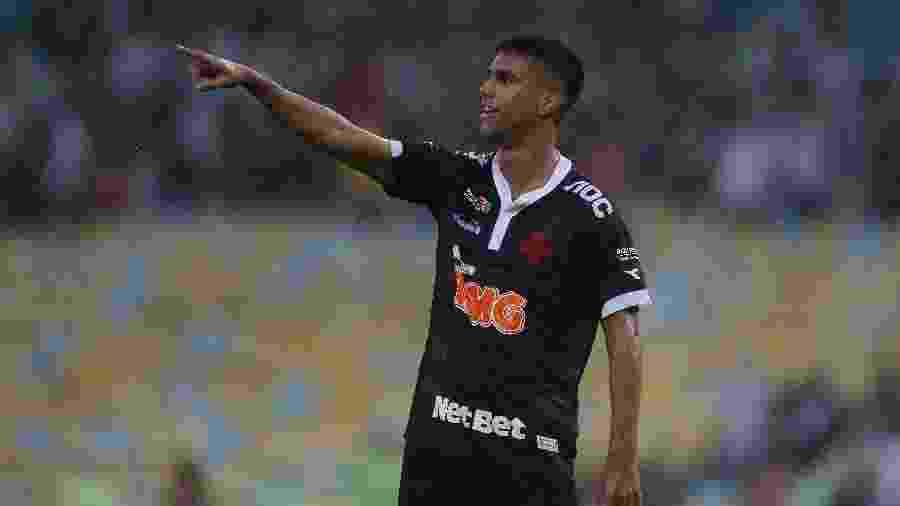 Tiago Reis, do Vasco, comemora seu gol sobre o Bangu na semifinal da Taça Rio  - Rafael Ribeiro / Vasco.com.br