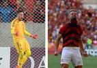 Montagem sobre fotos de Alexandre Vidal / Flamengo