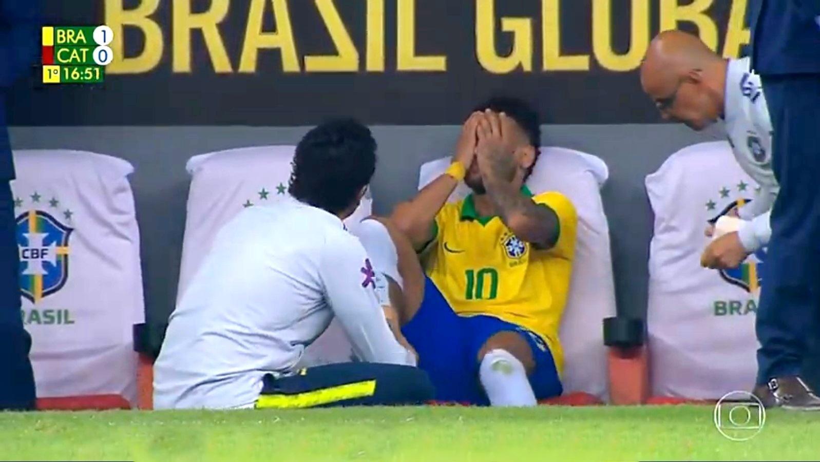 Resultado de imagem para neymar chora