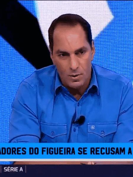 """Edmundo no programa """"Expediente Futebol"""", do Fox Sports - Reprodução/Fox Sports"""