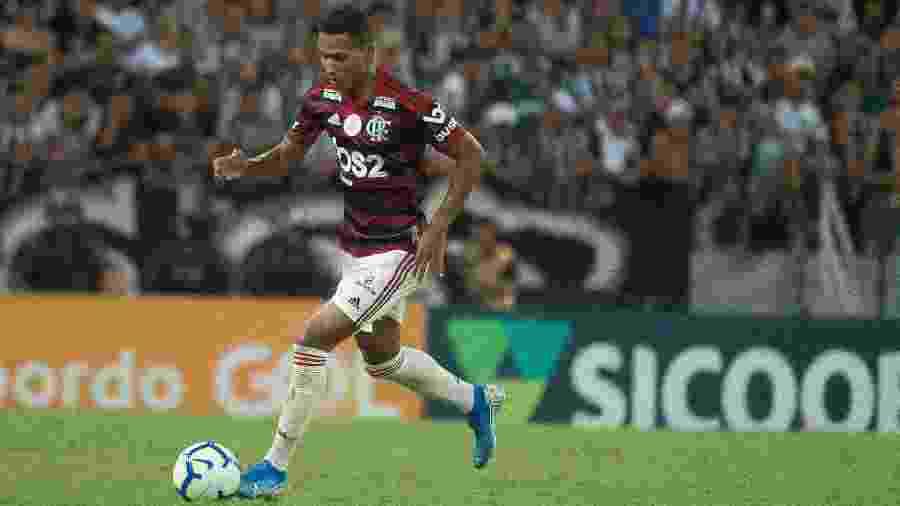João Lucas, lateral-direito do Flamengo, teve algumas chances em 2019 - Alexandre Vidal/Flamengo