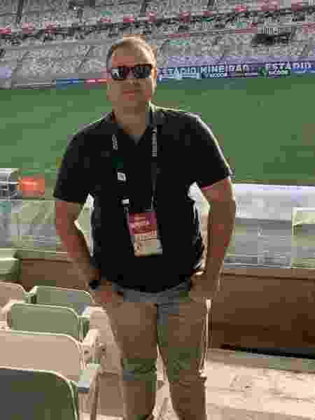 Bruno Azevedo é âncora da Rádio Itatiaia e teria desaparecido na última quinta-feira (31) - Divulgação/Rádio Itatiaia