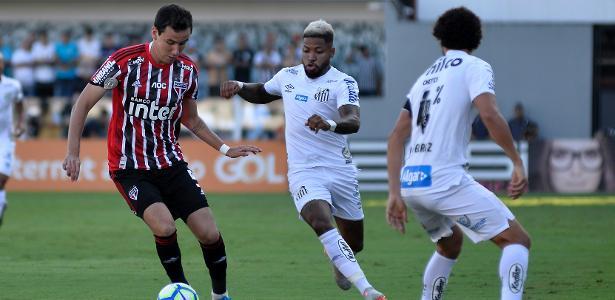 Campeonato Brasileiro   Santos e SP empatam, e clube da Vila garante vaga na Libertadores