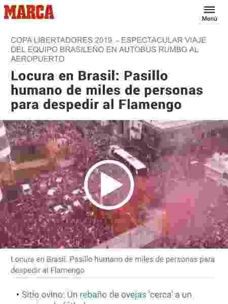 Marca confundiu festas das torcidas de Flamengo e Náutico - Reprodução/Marca