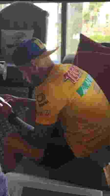 Nico López tem foto vazada com a camisa do Tigres, do México - Reprodução - Reprodução