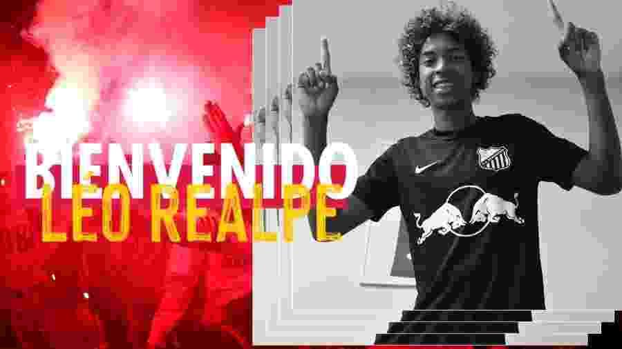 Red Bull Bragantino anunciou a contratação de Leo Realpe - Divulgação/Red Bull Bragantino