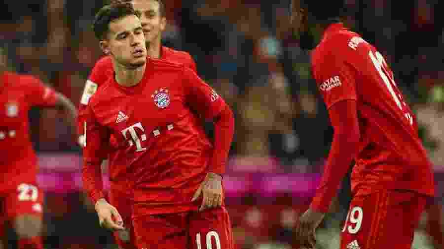 Philippe Coutinho pode ser aproveitado pelo Barcelona após temporada no Bayern de Munique - Reuters/DFL