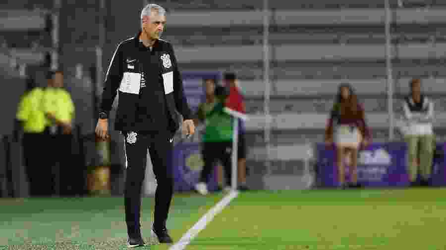 Tiago Nunes, durante a partida entre Corinthians e New York City - Rafael Ribeiro/Divulgação