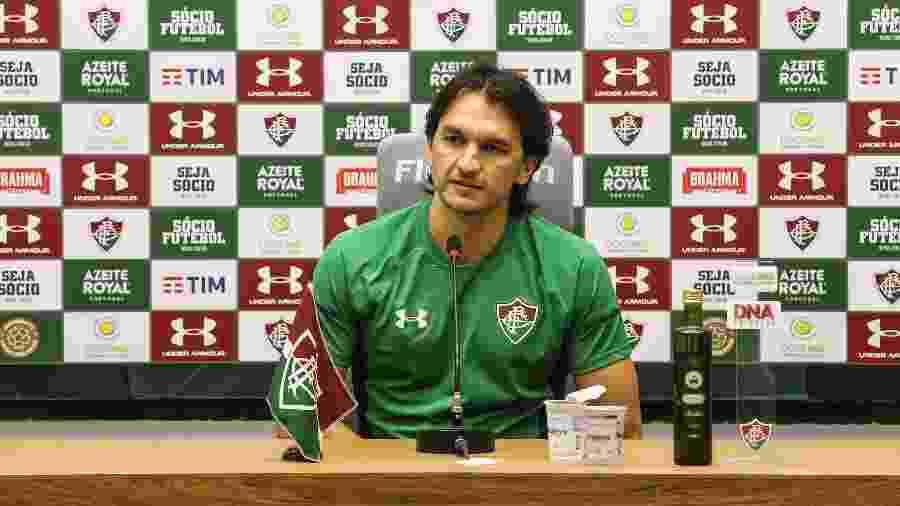 Matheus Ferraz voltou aos campos após sete meses fora no Fluminense - Lucas Mercon/Fluminense FC