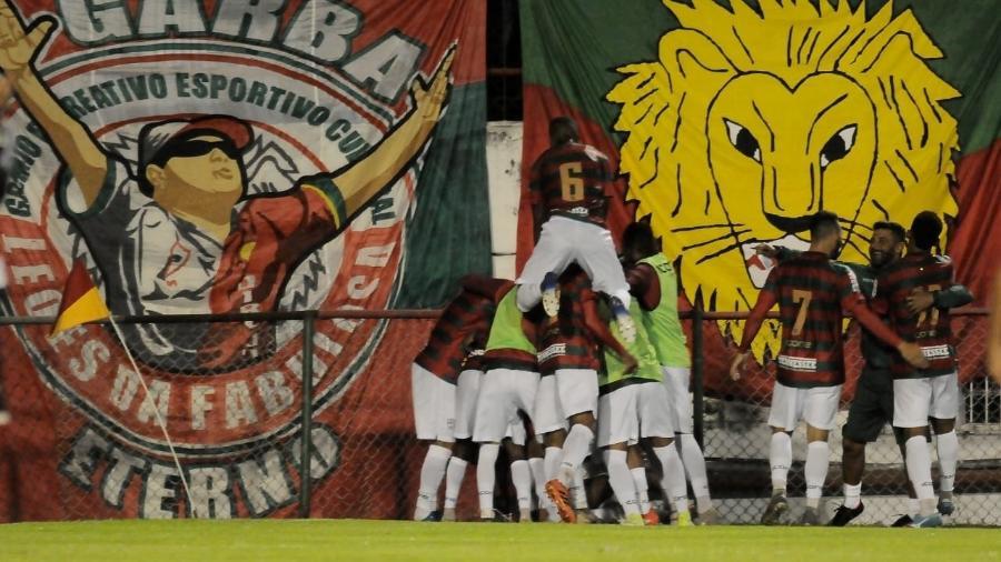Gol da Portuguesa na Série A2 do Campeonato Paulista 2020 - Dorival Rosa