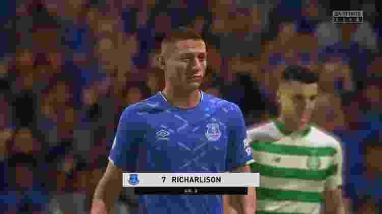 Richarlison Fifa 20 - Reprodução - Reprodução
