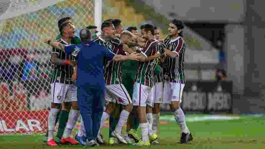Fluminense não venceu jogos na volta do Carioca, mas conquistou a Taça Rio e disputa decisão com o rival Flamengo - Lucas Merçon/Fluminense FC