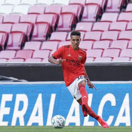 Pedrinho tem tido pouca oportunidade no Benfica - Gualter Fatia/Getty Images