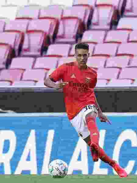 Pedrinho, meia ex-Corinthians e atualmente no Benfica, de Portugal (foto) - Gualter Fatia/Getty Images